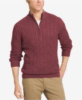 Izod Men's Big & Tall Mock Turtleneck Sweater