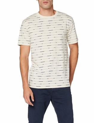 Scotch & Soda Men's Short Sleeve Tee with Allover Print T-Shirt