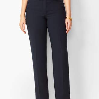 Talbots Seasonless Crepe Straight-Leg Pants- Curvy Fit