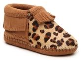 Minnetonka Riley Girls Infant & Toddler Leopard Boot