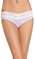 Honeydew Intimates Women's Lace Trim Low Rise Thong