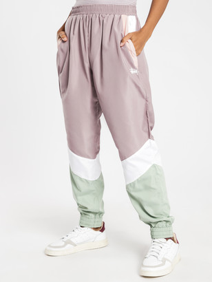 Stussy Chase Track Pants in Purple