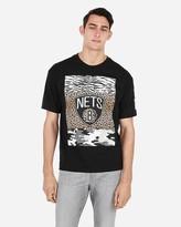 Express Brooklyn Nets Nba Heavyweight Graphic T-Shirt