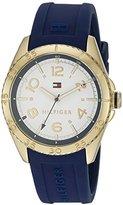 Tommy Hilfiger Women's 1781637 Lizzie Analog Display Japanese Quartz Blue Watch