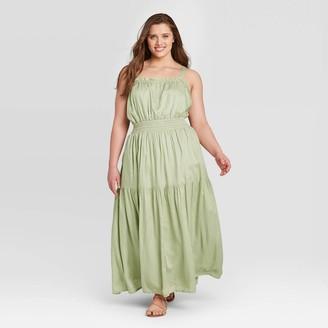 Universal Thread Women's Sleeveless Smocked Dress - Universal ThreadTM