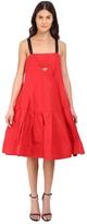 Vera Wang Dress w/ Cami Neckline Voluminous Skirt Women's Dress