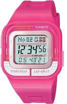 Casio Women's SDB100-4A Resin Quartz Watch with Digital Dial