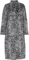 Elizabeth and James Balin Leopard-print Faux Fur Coat - US2