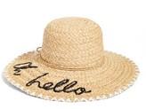 Kate Spade Women's Oh Hello Sun Hat - Beige