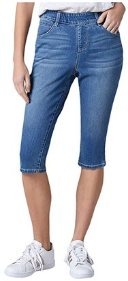 Jag Jeans Bryn Pull-On Denim Pedal Pusher (Mission) Women's Jeans