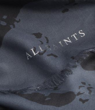 AllSaints Acoustic Square Scarf