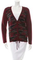 Kenzo Wool V-Neck Cardigan w/ Tags
