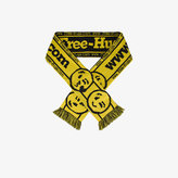 Vetements Yellow hooligan free hugs scarf