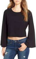 Leith Bell Sleeve Crop Top