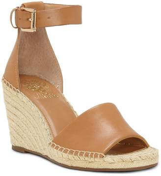 Vince Camuto Leera Ankle Strap Espadrille Wedge Sandals