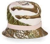 Hermes Cream Silk Motif Bucket Hat