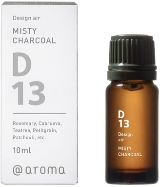 Aroma D13 Misty Charcoal Essential Oil Blend - 10 ml