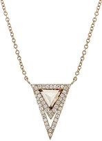 Monique Péan Women's Mixed Diamond Pendant Necklace