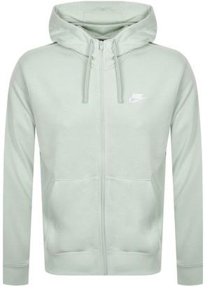 Nike Full Zip Club Hoodie Green