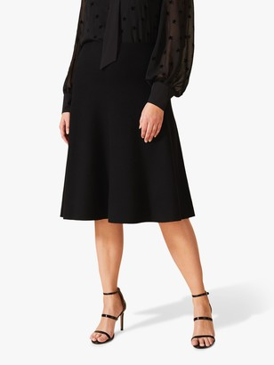Studio 8 Francis Knee-Length Skirt, Black