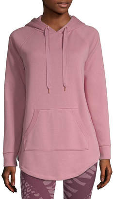 Xersion Womens Tunic Long Sleeve Hoodie