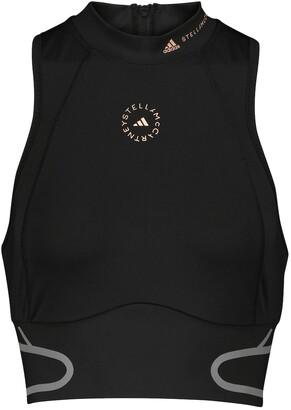 adidas by Stella McCartney TruePace crop top