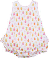 Kissy Kissy Prismatic Pineapples Printed Bubble Playsuit, Size 3-18 Months