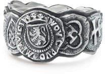 David Yurman Men's 12mm Shipwreck Coin Band Ring