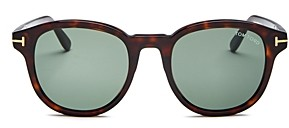 Tom Ford Men's Jameson Round Sunglasses, 52mm