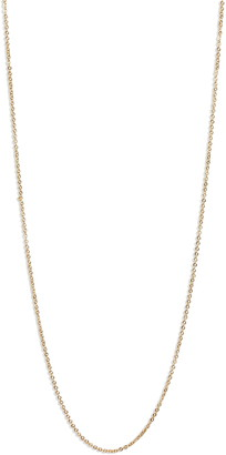 Melinda Maria Icons 19-Inch Oval Link Faceted Chain Necklace