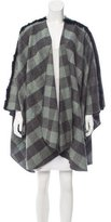 Donni Charm Fur-Accented Cape w/ Tags