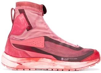 11 By Boris Bidjan Saberi x Salomon Bamba high-top sneakers