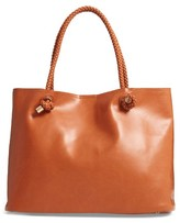Sole Society Shaynelee Faux Leather Tote - Brown