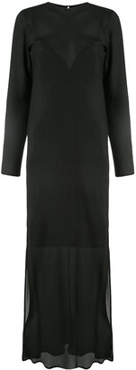 Sir. Indre sheer layered dress