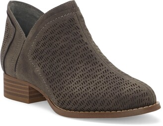 Vince Camuto Perforated Bootie