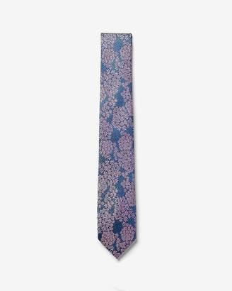 Express Narrow Floral Bunch Tie