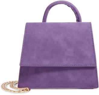 Skinnydip Lilac Eden Top Handle Bag