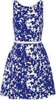 Milly Midnight jacquard-knit mini dress