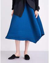 Issey Miyake Polygon pleated skirt