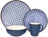 Sango Crystal Blue 16-pc. Dinnerware Set
