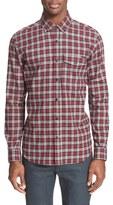 Belstaff 'Samuel' Extra Trim Fit Plaid Flannel Shirt