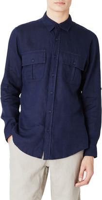 Onia Garret Linen Button-Up Shirt