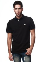 Burberry Men's Check Placket Pique Polo Shirt Modern Fit