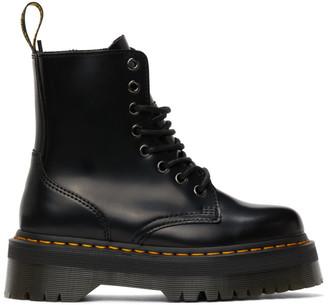 Dr. Martens Black Jadon Retro Quad Boots