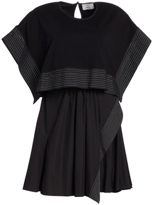 3.1 Phillip Lim Two-Piece Crop Top & Sleeveless Dress