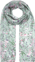 Accessorize Willow Floral Classic Silk Scarf