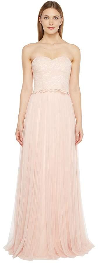 Donna Morgan Adeline Strapless Top Skirt Women's Dress