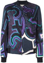 Emilio Pucci printed bomber jacket - women - Silk/Cotton/Polyester/Viscose - 42