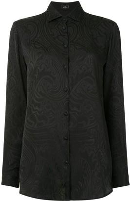 Etro Paisley Brocade Shirt
