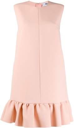 MSGM ruffle-hem mini dress